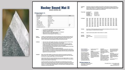 Hacker Sound Mat II