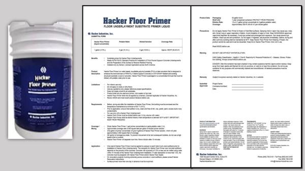 Hacker Floor Primer