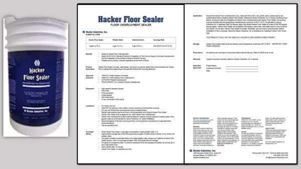 Hacker Floor Sealer