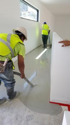 Gypsum Concrete Underlayment