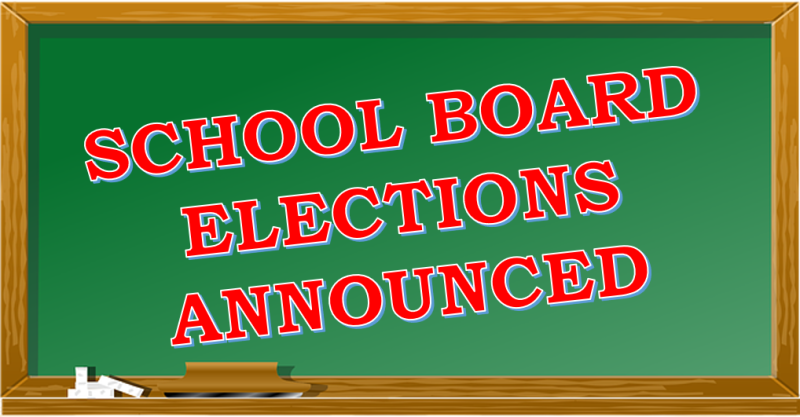 School Board Elections Set for May 21st