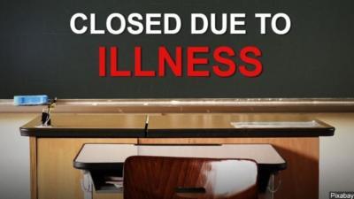 Illness forces school closing