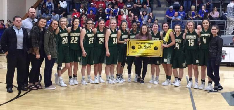 Wonderview girls to play for state championship