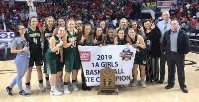Wonderview girls win second consecutive state title