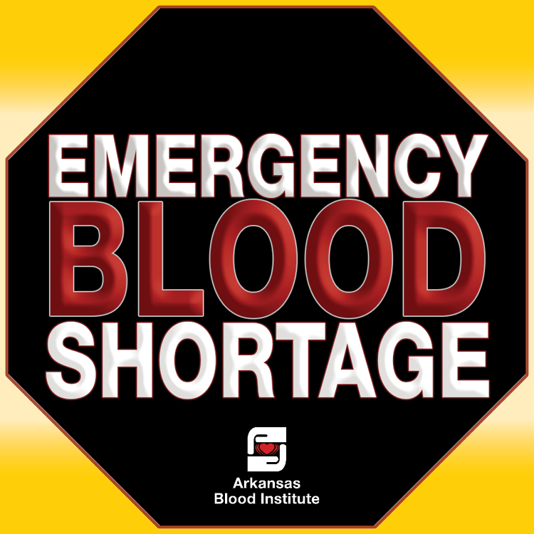 Arkansas Blood Institute declares emergency blood shortage