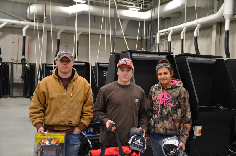 UACCM hosts high school welding contest