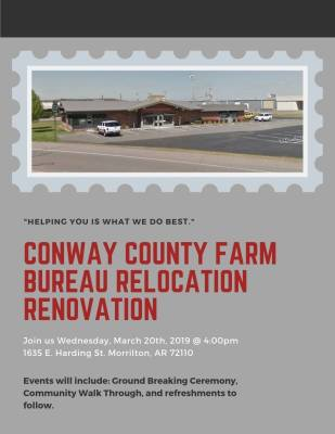 CC Farm Bureau to host relocation renovation event Wednesday