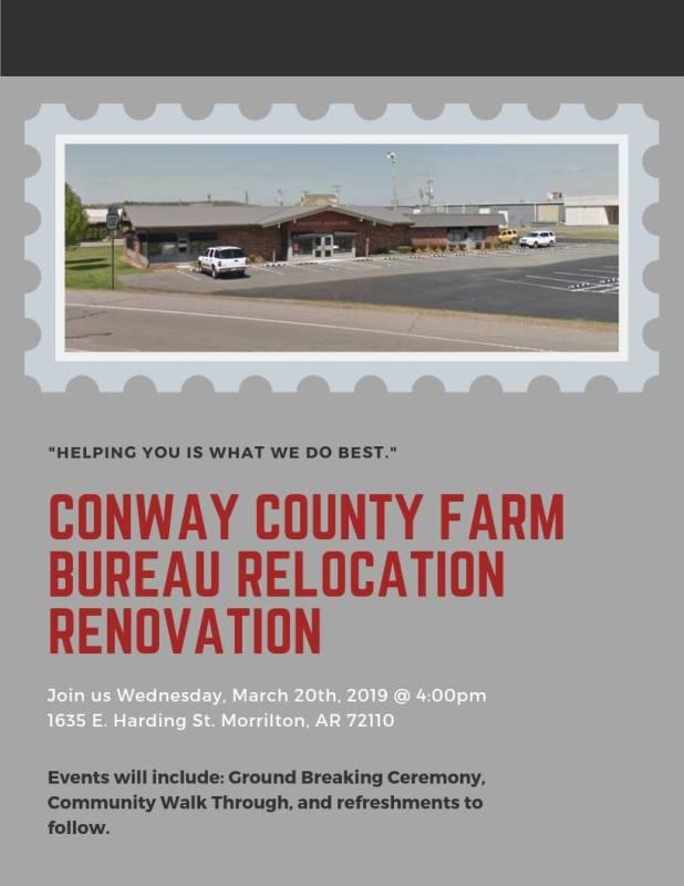 CC Farm Bureau to host relocation renovation event Wednesday