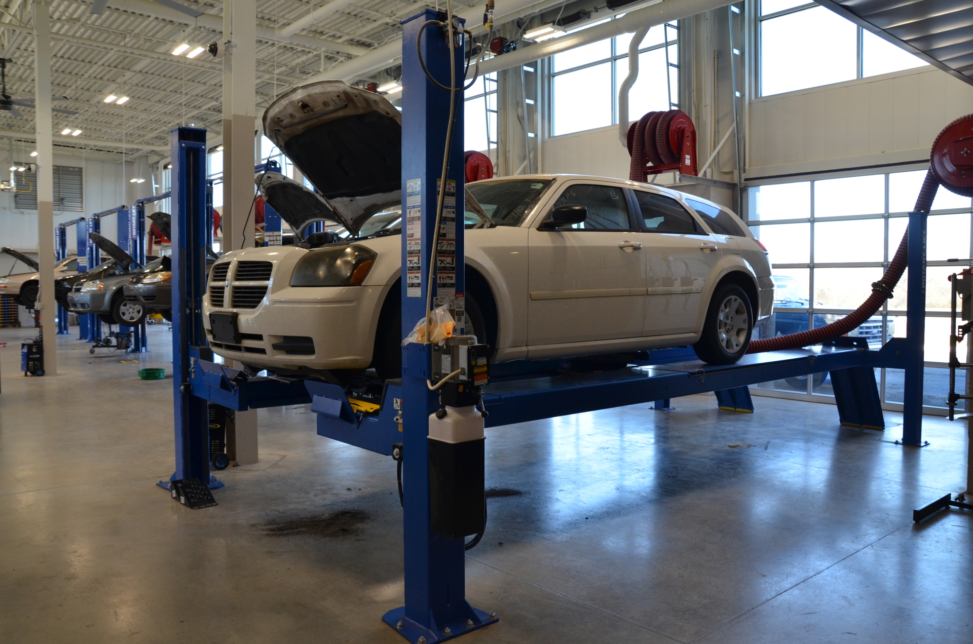 UACCM receives new automotive technology equipment