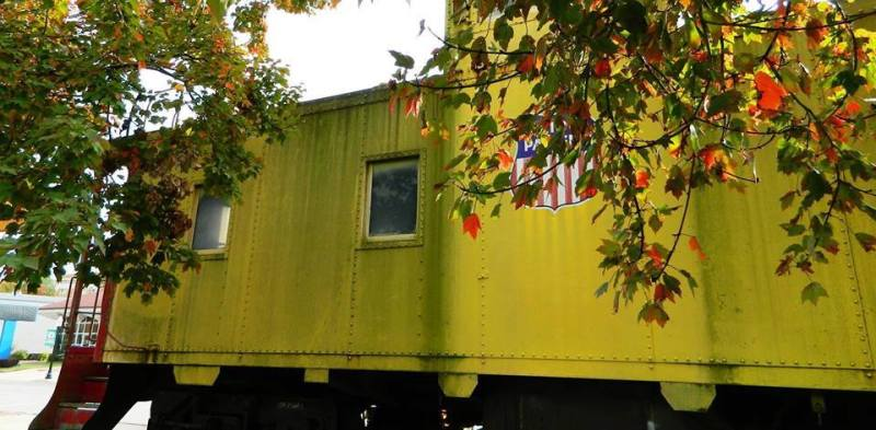 Morrilton caboose gets new ramp
