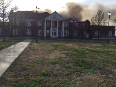 ATU discusses plans for fire-damaged Williamson Hall