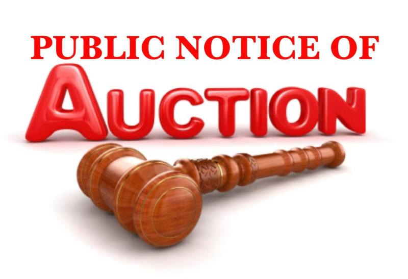 Sheriff S Office To Auction Seized Property