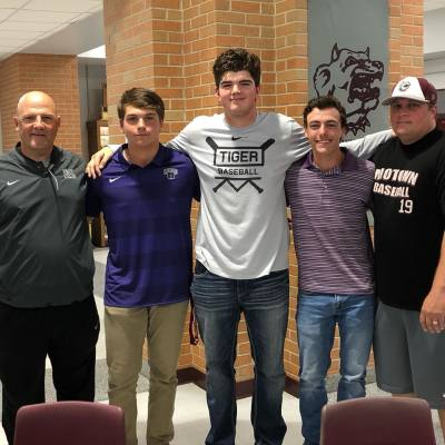 Three MHS baseball players sign letters of intent