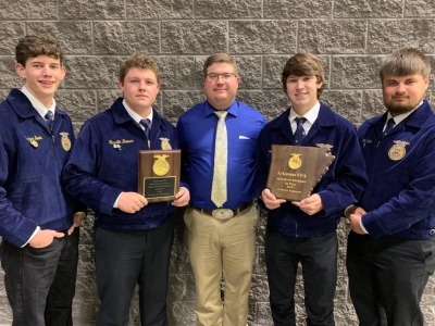 Morrilton FFA Wins Competition