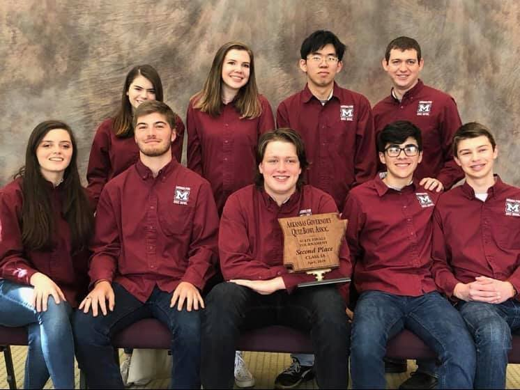 MHS Quiz Bowl finishes second in state