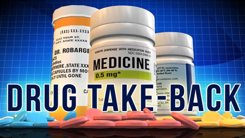 Drug Take Back held Saturday