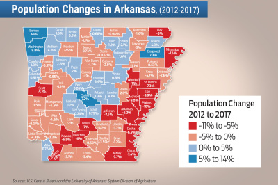 Population down in Conway County, up in Perry County in latest Census report