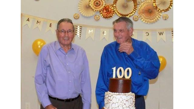 Local twins celebrate 100th birthday
