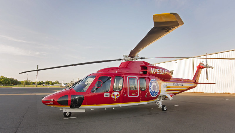 Medical helicopter makes emergency landing in Morrilton