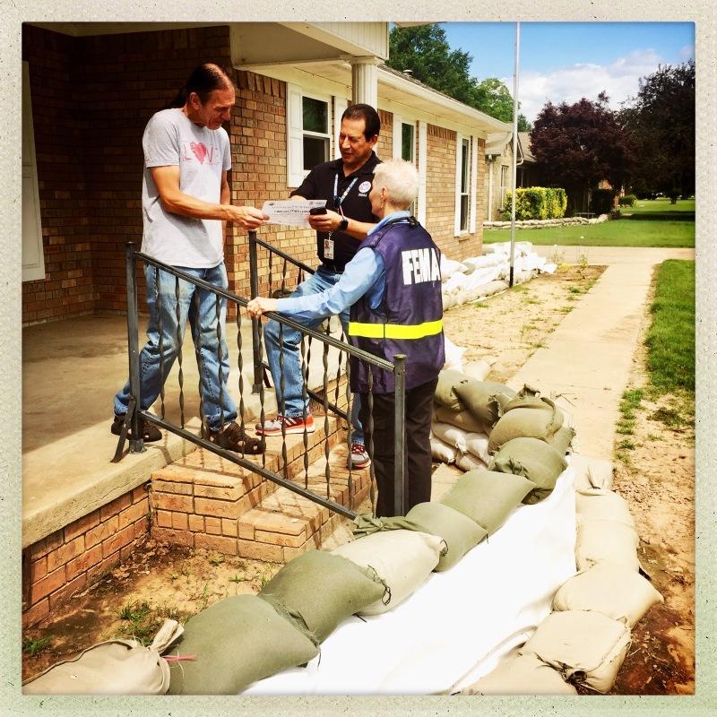 FEMA inspections beginning