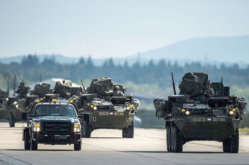 Military Convoy to begin in Arkansas