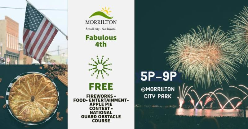 Fabulous Fourth moved to Morrilton City Park