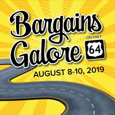 Bargains Galore set for August 8-10
