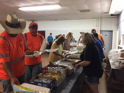 Relief organization hosts Operation Feed Perry
