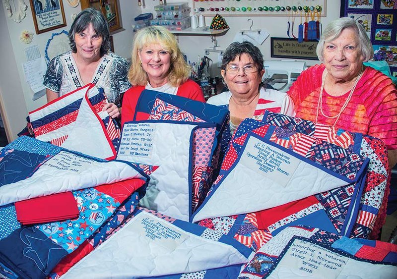 Piecemakers to present quilts to veterans