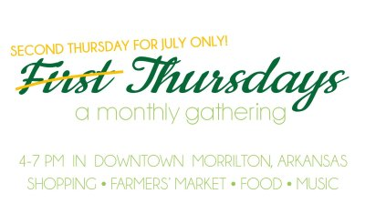 Main Street Morrilton to host First Thursday this week