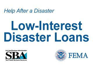 SBA Disaster Loans still available