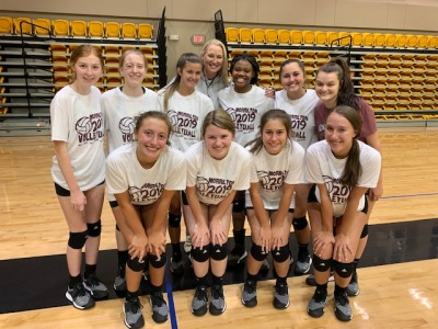 MHS Volleyball wins Hendrix team camp