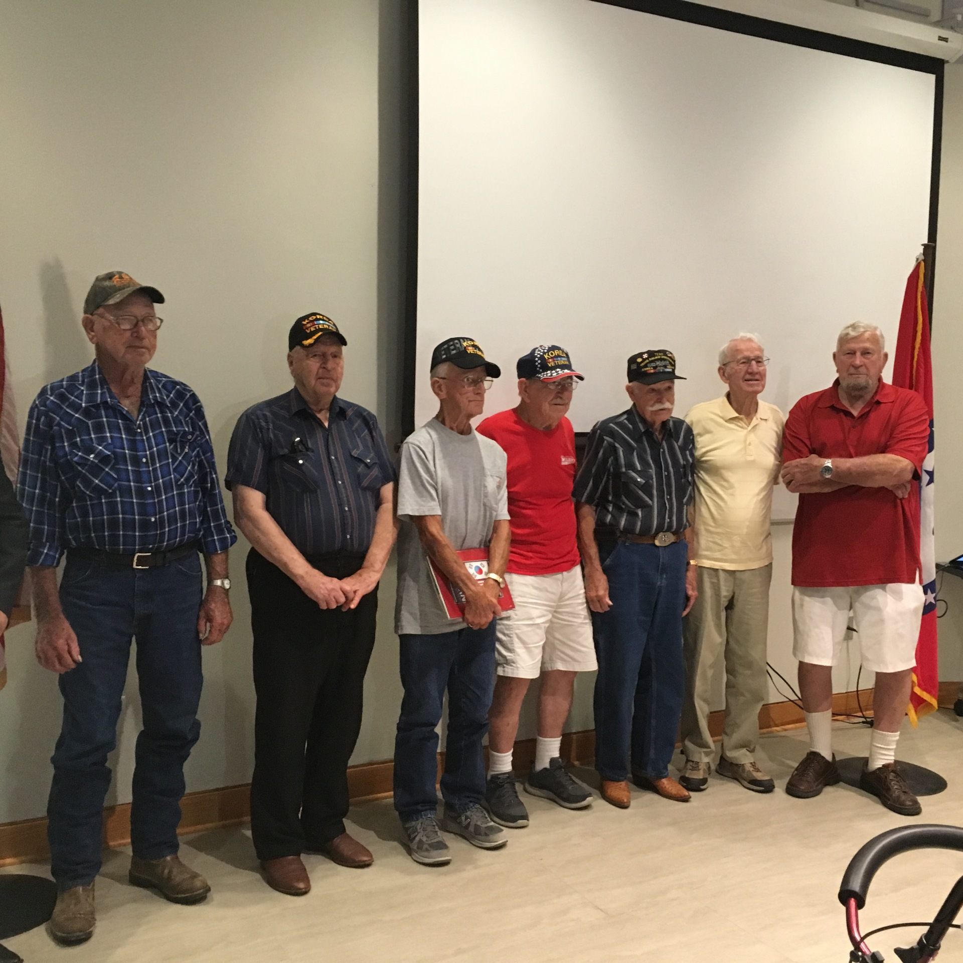 Perry Co. Korean War vets honored