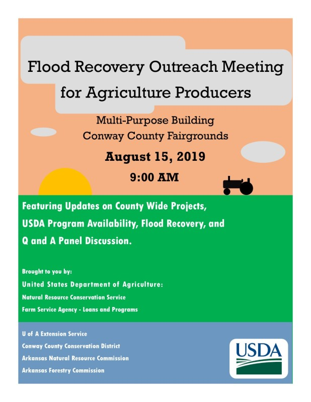 Conway Co. to host Flood Recovery meeting