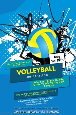 SPORTS: Youth Volleyball registration open
