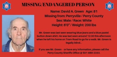 Silver Alert issued for Perry County man