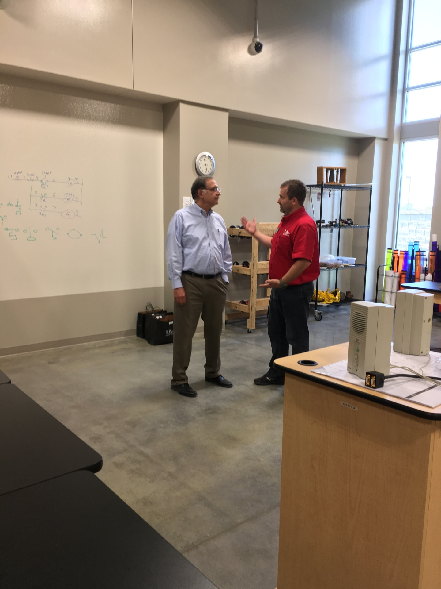 Boozman visits UACCM Workforce Training Center