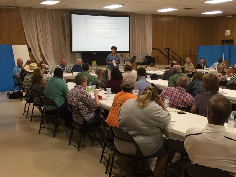 Farmers hear about flood recovery efforts