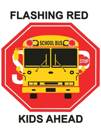 "Governor remind motorists of ""Flashing Red. Kids Ahead"""