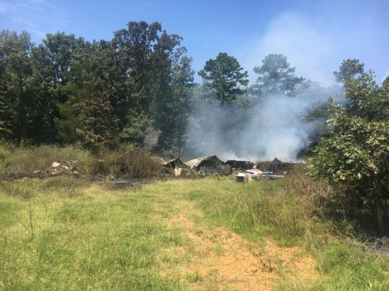 Weekend fire destroys Center Ridge home