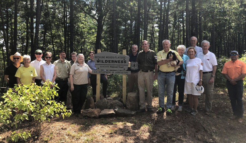 Flatside Wilderness dedicated