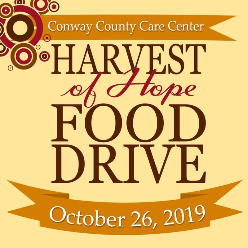 Harvest of Hope drive scheduled