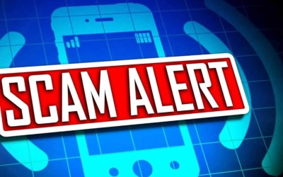 Phone scam circulating the area