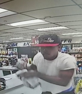 Suspect wanted for theft of veterans' donation jar