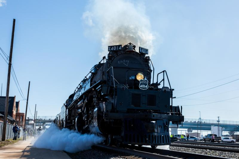 Steam locomotive to stop in Morrilton Friday