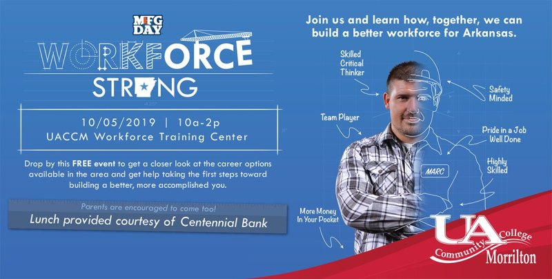 UACCM to host Workforce Strong event Saturday
