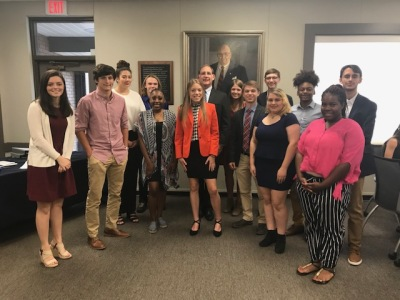 Two local students in Congressional Youth Cabinet