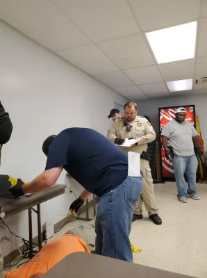 Local law enforcement officers complete CSI course