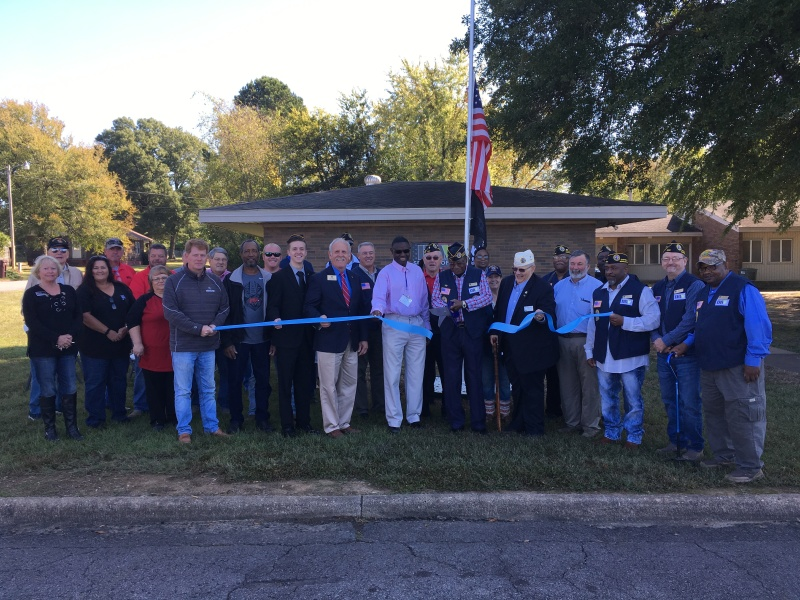 DAV holds ribbon cutting for new Morrilton office