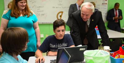 Computer Science enrollment up in Arkansas